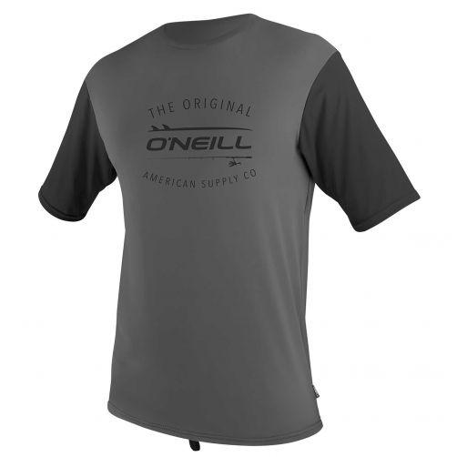 O'Neill---UV-shirt-voor-heren-met-korte-mouwen---Limited-24/7---Grafiet