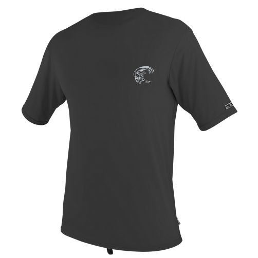 O'Neill---UV-shirt-voor-heren-met-korte-mouwen---donkergrijs
