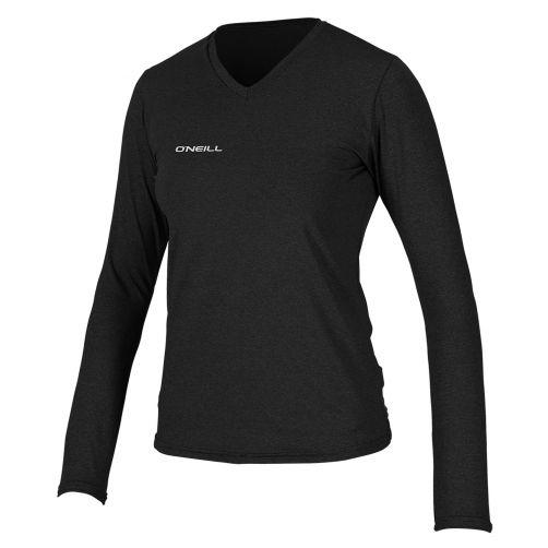 O'Neill---UV-shirt-voor-dames-met-lange-mouwen---zwart-