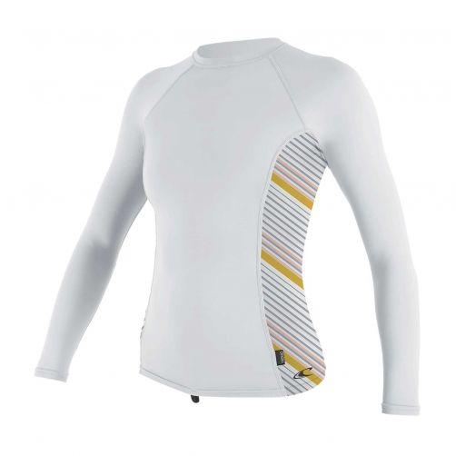 O'Neill---UV-shirt-voor-dames---Longsleeve---Rash-Guard---Wit