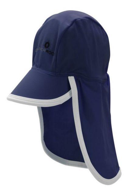 Snapper-Rock---UV-petje-voor-baby-en-kids---Blauw/Wit