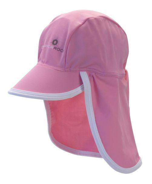 Snapper-Rock---UV-petje-voor-baby-en-kids---Roze/Wit