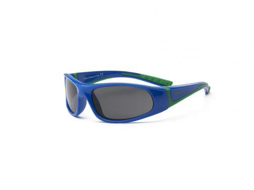 Real-Kids-Shades---UV-zonnebril-kind---Bolt---Royal-blauw-/-groen