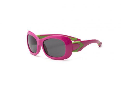 Real-Kids-Shades---UV-zonnebril-kind---Breeze---Kersroze-/-Limoengroen
