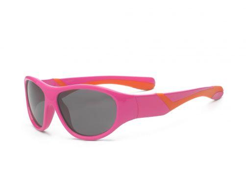 Real-Kids-Shades---UV-zonnebril-kind---Discover---Roze-/-oranje