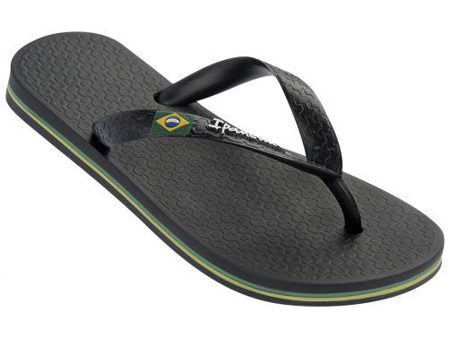 Ipanema---slippers-voor-jongens--Classic-Brasil---zwart