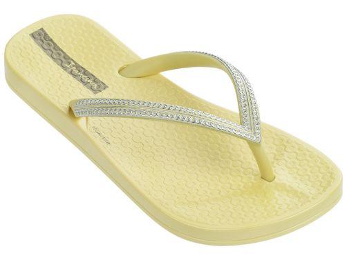 Ipanema---slippers-voor-meisjes---Mesh-Kids---lichtgeel