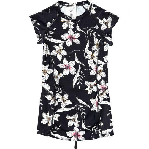 O'Neill---UV-zwemshirt-voor-dames---Mix-&-Match---Black-AOP-/-Pink-2
