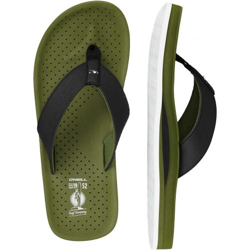 O'Neill---Slippers-voor-heren---Punch---Bronze-Green-groen