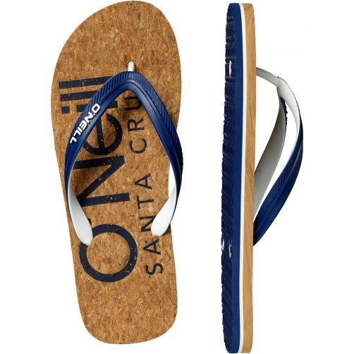 O'Neill---Slippers-voor-heren---Profile---Brown-AOP-bruin