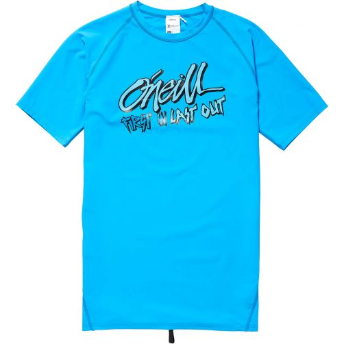 O'Neill---UV-zwemshirt-voor-jongens---First-in-Last-out---Dresden-Blue