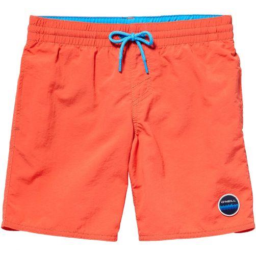 O'Neill---UV-zwembroek-voor-jongens---Vert---Hibiscus-Red-rood