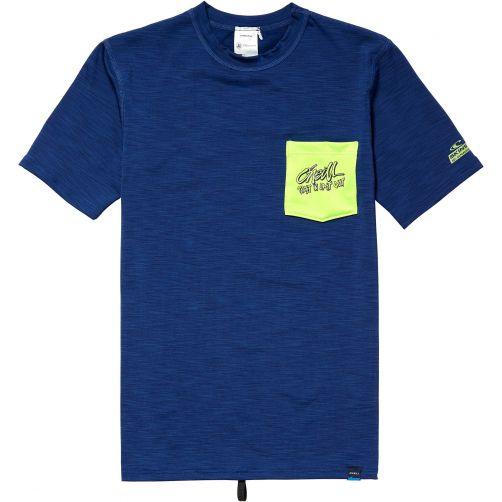 O'Neill---UV-shirt-voor-jongens---Atlantic-Blue-blauw