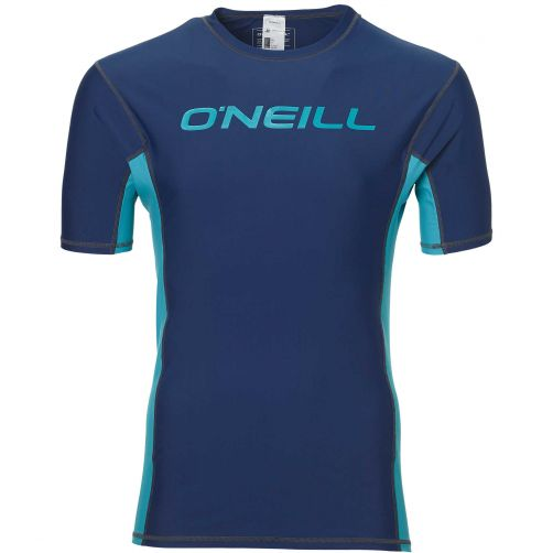 O'Neill---UV-zwemshirt-voor-heren---Springs---Asphalt-blauw
