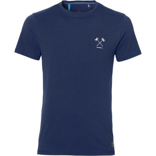 O'Neill---UV-shirt-voor-heren---Palms---Atlantic-Blue-blauw