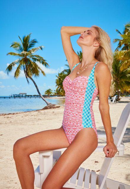 Cabana-Life---UV-Badpak-voor-dames---Rood
