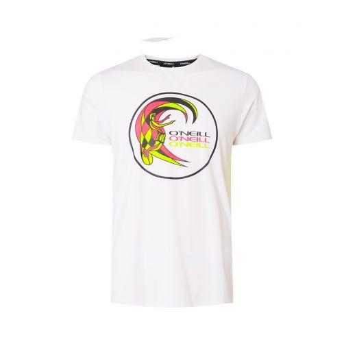 O'Neill---UV-shirt-met-korte-mouwen-voor-mannen---wit