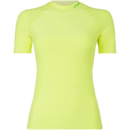 O'Neill---UV-shirt-met-korte-mouwen-voor-vrouwen---geel