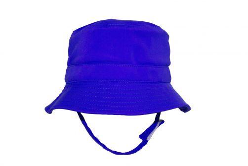 Rigon---UV-bucket-hat-voor-jongens---Royal-blauw
