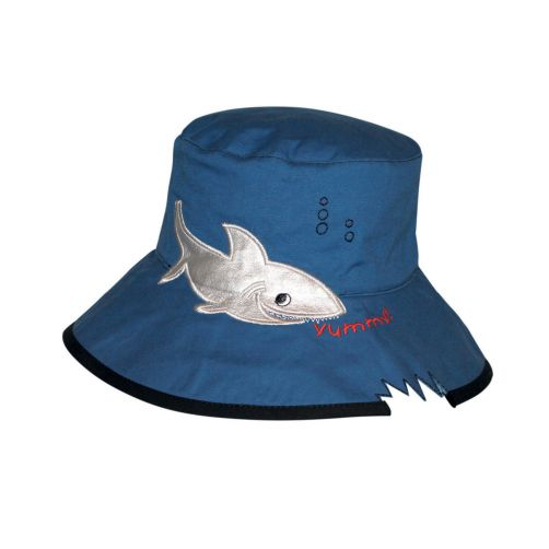Rigon---UV-bucket-hat-voor-kinderen---Blue-shark