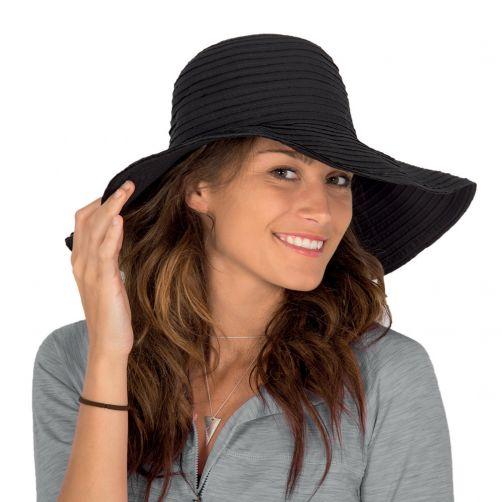 Rigon---UV-flaphoed-voor-dames---Egaal-zwart