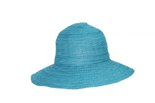 Rigon---UV-flaphoed-voor-petite-dames---Turquoise