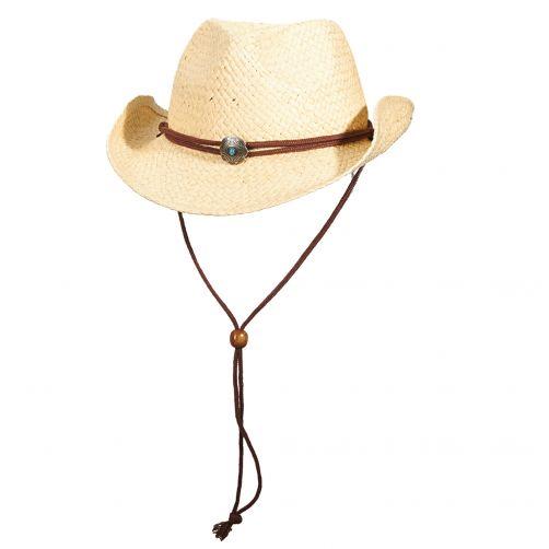 Dorfman-Pacific---Cowboy-hoed-voor-kinderen---Naturel