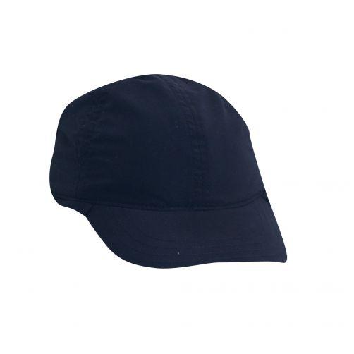 Dorfman-Pacific---Pet-met-flap-voor-baby's---Donkerblauw