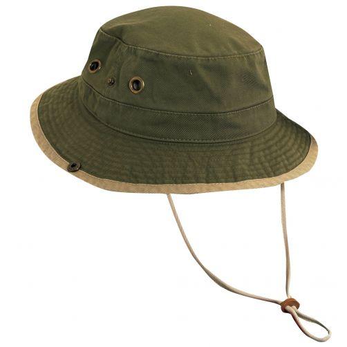 Dorfman-Pacific---UV-hoed-voor-kinderen---Olijfgroen/kaki