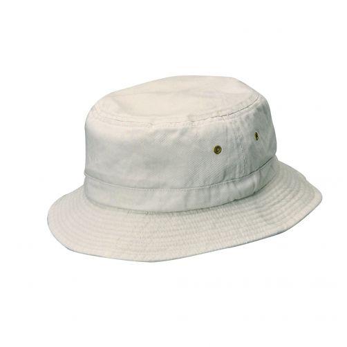 Dorfman-Pacific---Bucket-hoed-voor-kinderen---Gebroken-wit