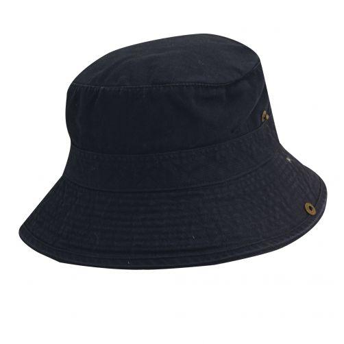 Dorfman-Pacific---UV-hoed-voor-kinderen---Donkerblauw/Oranje