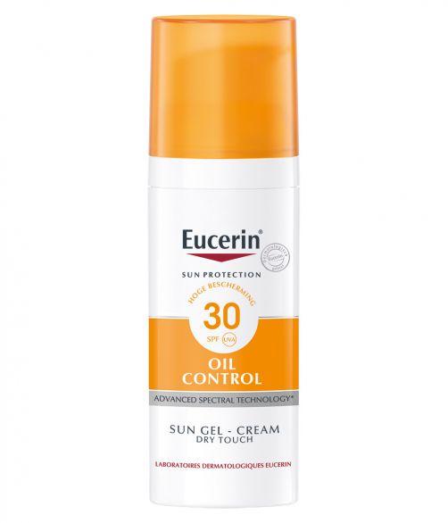 Eucerin---UV-zonnebrandcrème-gel-voor-vette-huid---Oil-control-SPF30