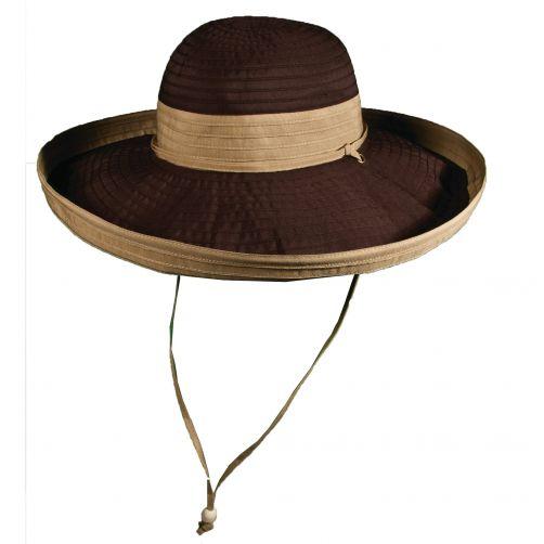 Scala---UV-vormbare-hoed-voor-dames---Bruin