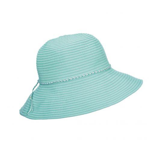 Scala---UV-vormbare-zonnehoed-voor-dames---Blauw