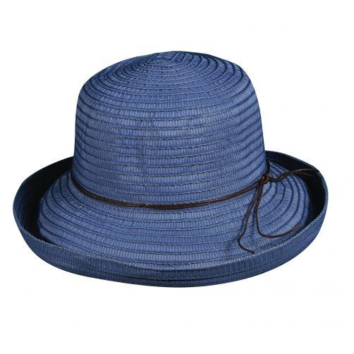 Scala---UV-vormbare-hoed-voor-dames---Blauw