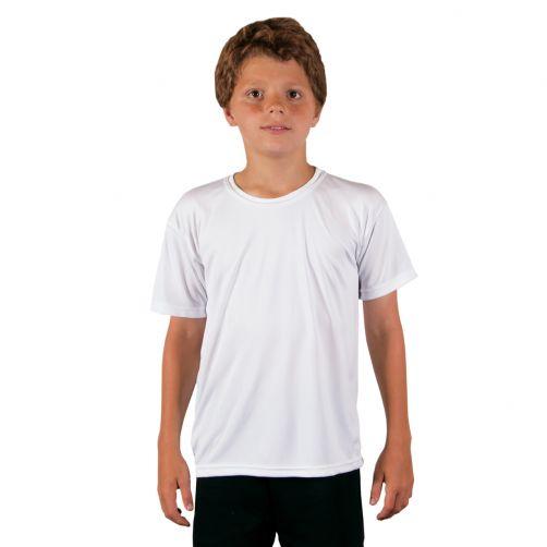 Vapor-Apparel---UV-shirt-met-korte-mouwen-voor-kinderen---wit