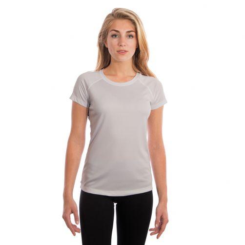 Vapor-Apparel---UV-shirt-met-korte-mouwen-voor-dames---grijs