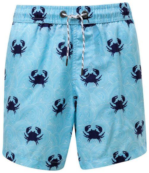 Snapper-Rock---Boardshort-voor-mannen---Blauw-Crab---Blauw
