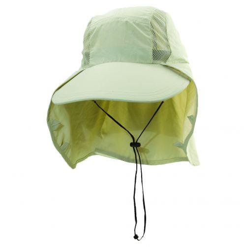 Dorfman-Pacific---UV-nylon-visserspet-voor-heren---Gebroken-wit