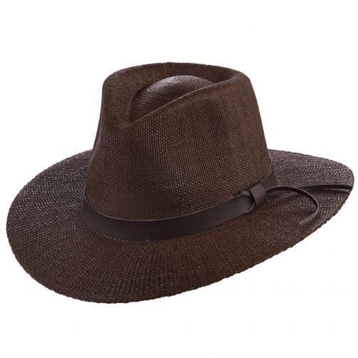 Scala---Safari-hoed-voor-heren---Bruin