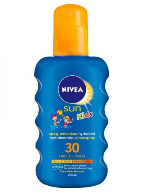 Nivea---UV-zonnebrandspray-voor-kinderen---Sun-SPF30