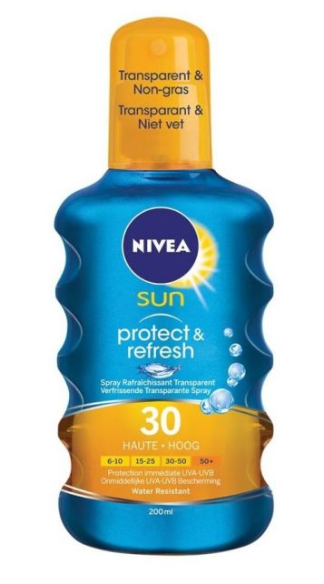 Nivea---UV-zonnebrandspray---Sun-Protect-&-refresh-SPF30