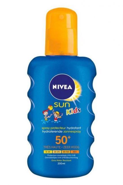 Nivea---UV-zonnebrandspray-voor-kinderen---Sun-SPF50+
