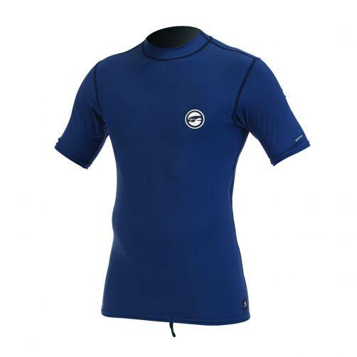Prolimit---Zwemshirt-voor-heren-met-lange-mouwen---Donkerblauw