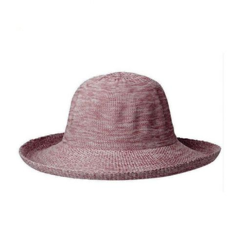 Rigon---UV-zonnehoed-voor-dames---Old-rose-pink-roze