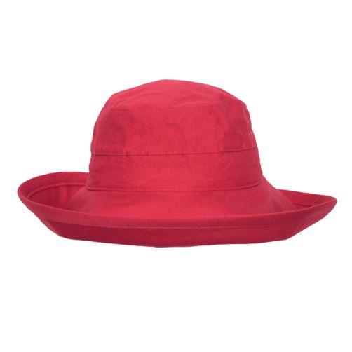 Rigon---UV-bucket-hat-voor-dames---Poppy-rood