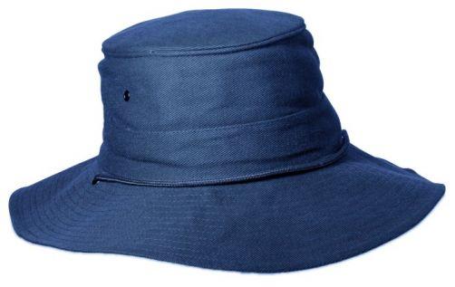 Rigon---UV-booniehoed-voor-heren---Blauw-/-grijs
