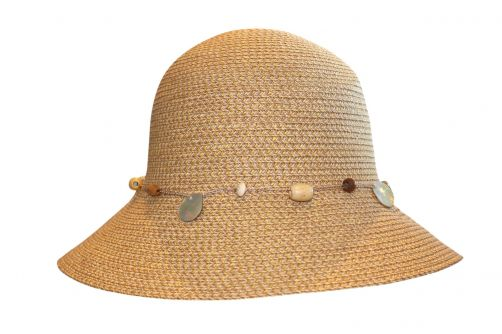 Rigon---UV-bucket-hat-voor-dames---Natural-gevlekt