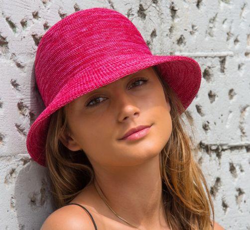Rigon---Bucket-hat-voor-dames---Raspberry-roze