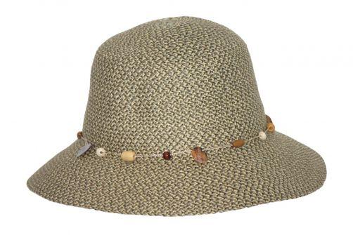 Rigon---UV-bucket-hat-voor-dames---Pistachegroen-gevlekt